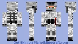 Arctic Camouflage Soldier Minecraft Skin