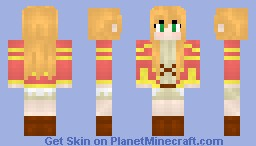 Ai Astin (Sunday Without God) (Without Cape and Alternate Hair)   【☾♄e®®y】 Minecraft Skin