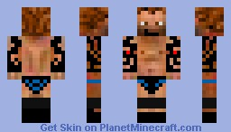 New Randy Orton Minecraft Skin