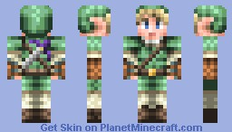 Link-from the new Smash Bros Minecraft Skin