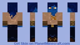 Blue Villager Minecraft Skin