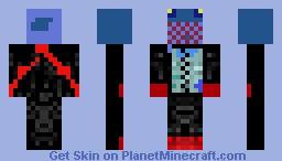Agent Fish!!!! Minecraft Skin