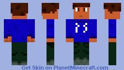 Jon-o-than (Teenager with a Blue Sweatshirt)