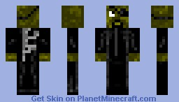 Director Nick Fury Minecraft Skin