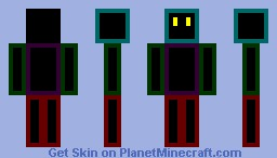 Block guy! Minecraft Skin