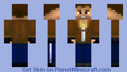 Niko Bellic - GTA 4 Minecraft Skin