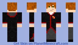 Nigel Wolpert - Gryffindor Minecraft Skin