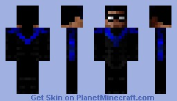 Nightwing Redux (Pre-New 52) Minecraft Skin
