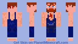 NikNikamTV's Billy Beard Minecraft Skin