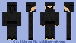 Cartoony ninja Minecraft Skin