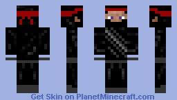 Steve Teh NINJA =D=D=D Minecraft Skin