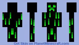 Nitro Creeper Minecraft Skin