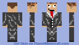 Noob In A Suit Minecraft Skin
