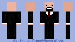 Notch in Suit Minecraft Skin