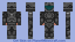 ODST Marine (Halo 3 Version) Minecraft Skin