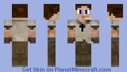 Oakvale Villager Minecraft Skin