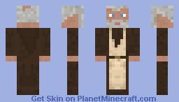 Obi-Wan-Kenobi (No hood) Minecraft