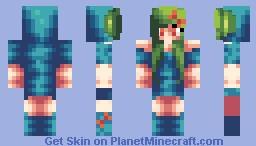 Oddish Girl Minecraft Skin