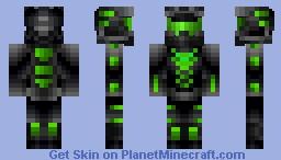 Halo (Green) Minecraft Skin