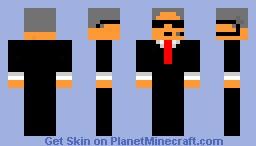 Old Agent Minecraft Skin