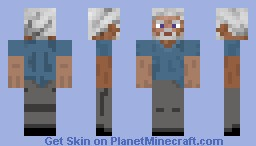Old Steve Minecraft Skin