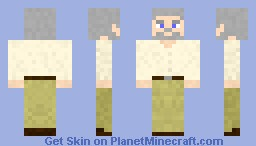 The Old Man Minecraft Skin