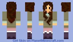 Olive Poncho by Kheperdha Minecraft Skin