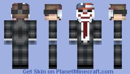 PAYDAY 2 (DALLAS) Minecraft Skin