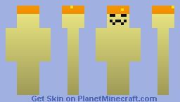 Orange Mushroom Minecraft Skin