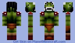 Orc Warrior Minecraft Skin