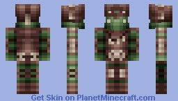 Orc Warlord [new version] Minecraft Skin