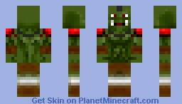 Orc from WOW (World of Woldcraft)(Updated)! Minecraft Skin