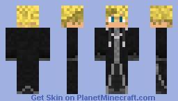 Organization XIII Roxas Minecraft Skin