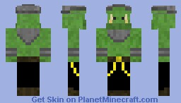 Cyberpunk Orc Street-racer Minecraft Skin