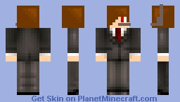 Tuxedo boy Minecraft Skin