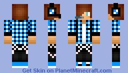 a skin again Minecraft Skin