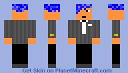 Ozo Suit Minecraft Skin