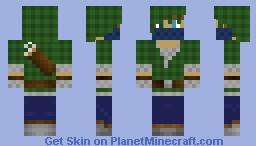 Green Archer Minecraft Skin