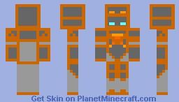 Robot Combat League (RCL) Crash Minecraft Skin