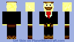Pringles Man 3D requested by MajorMatthi Minecraft Skin