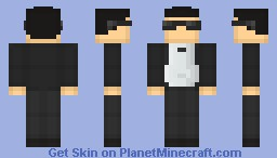 PSY - Gangnam Style (real version) Minecraft Skin