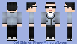 PSY- Gangnam Style (Youtubes 1# hit sensation) Minecraft Skin