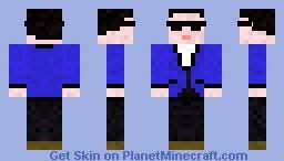 PSY (Gangnamstyle) Minecraft Skin