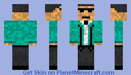 PSY Gangnam style *Fixed* Minecraft Skin