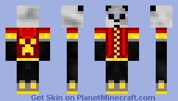 Teenage Mutant Ninja Pandas! Minecraft Skin