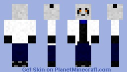 Scientist Panda Minecraft Skin