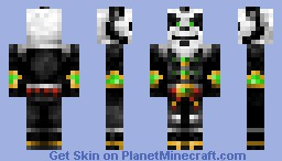 Pandaren (World of Warcraft) *WoW* Minecraft Skin