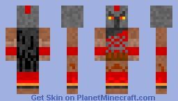Pantheon - Lol champion skin Minecraft Skin