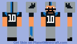 Carolina Panthers Minecraft Skin