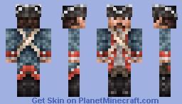 Continental Soldier Minecraft Skin